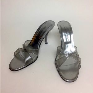 Via Spiga Clear PVC Heels Italy 6.5